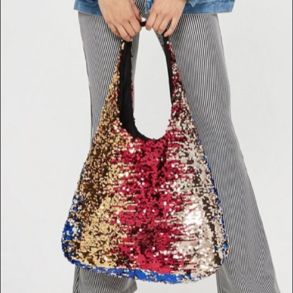 0c1b961d95f6f 🆕Topshop>SOLD OUT Freedom Sequin shoulder bag NWT NWT